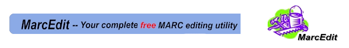 Logo for MarcEdit: your complete free MARC editing utility